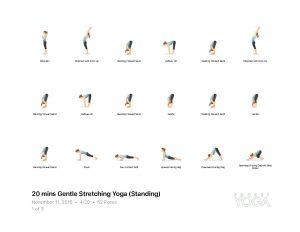 20 mins gentle stretching yoga standing  eds wellness inc