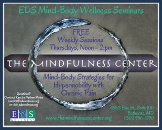Mind-Body Strategies for Hypermobility and Chronic Pain – A Movement and Mindfulness-Based Support Group Program – Start Thursday, January 12th, 2017 at 12pm!